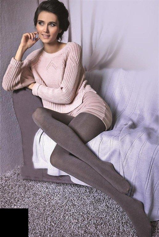 Womens Luxury Opaque Tights, Warm Wool Pantyhose, Gatta -9907